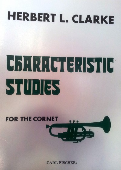 Characteristic Studies for the cornet Herbert L. Clarke