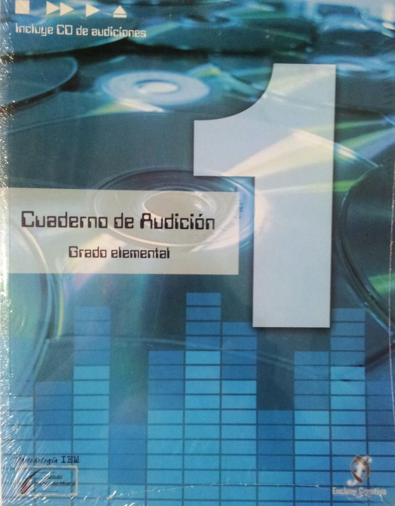 Cuaderno de audición Vol. 1