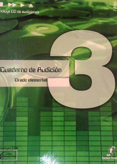 Cuaderno de audición Vol. 3
