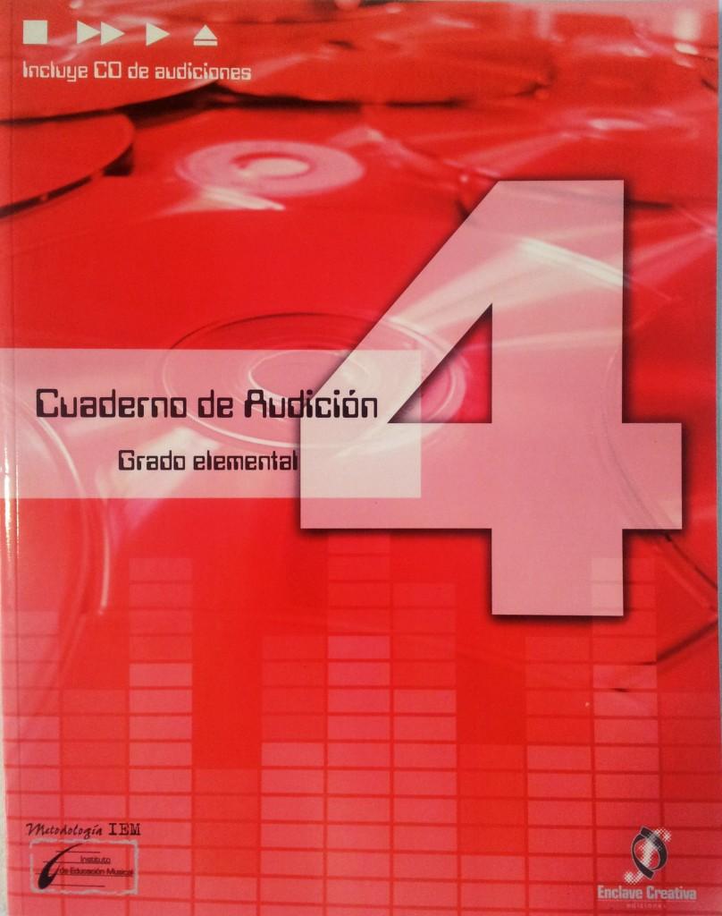Cuaderno de audición Vol. 4