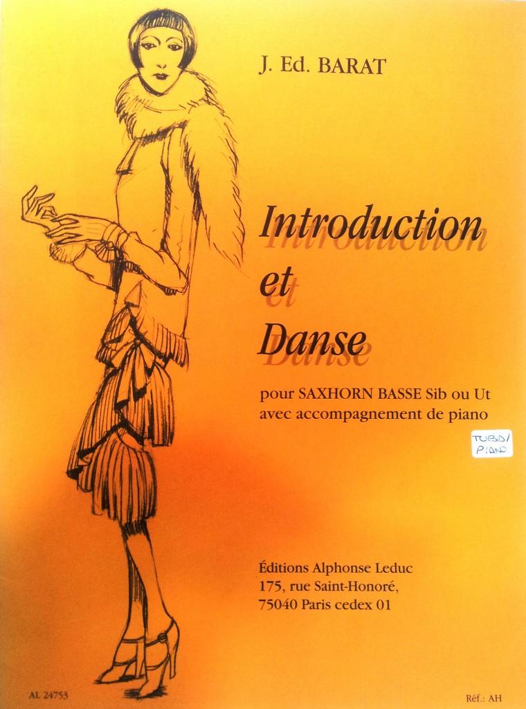 Introducción y Danza para tuba y piano J. Ed. Barat