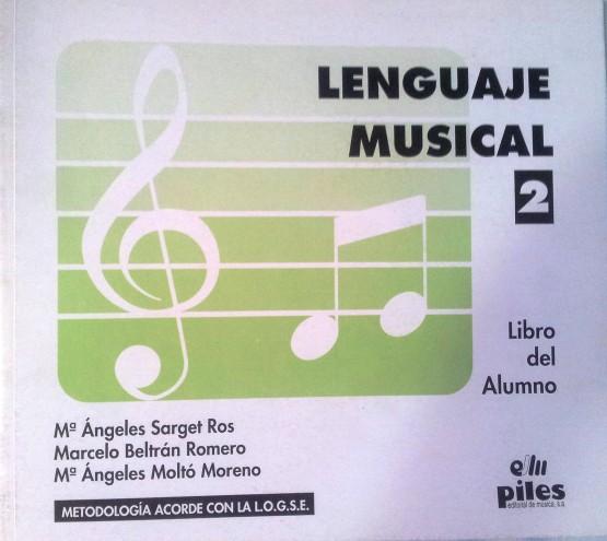 Lenguaje Musical Vol. 2 Beltrán Romero