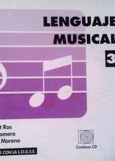 Lenguaje Musical Vol. 3 Beltrán Romero