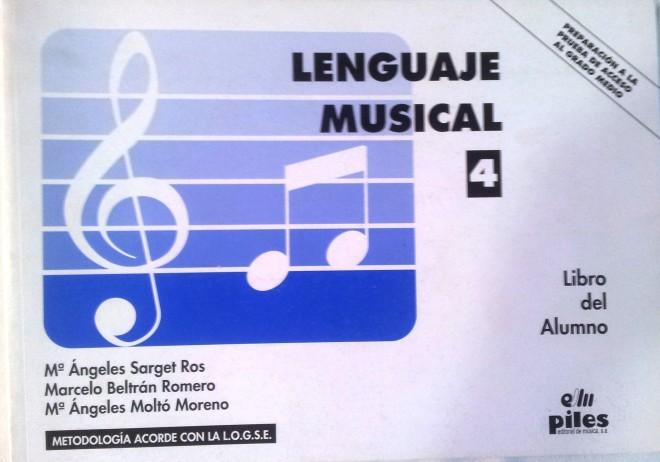 Lenguaje Musical Vol. 4 Beltrán Romero