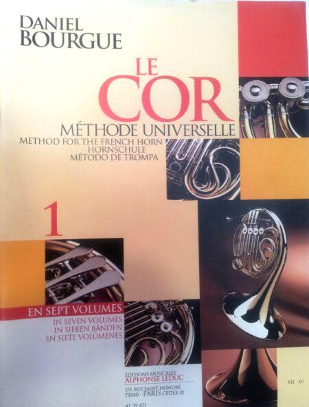 Método de trompa 1 Le Cor Daniel Bourgue