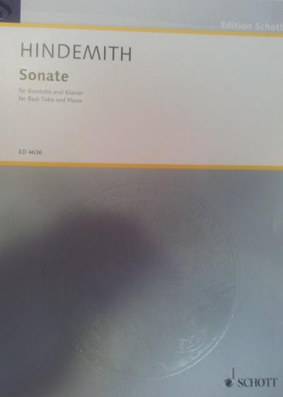 Sonata para tuba y piano Hindemith