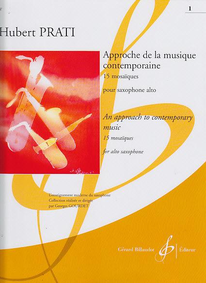 Approche de la musique contemporaine 1 para saxofón alto Hubert Prati