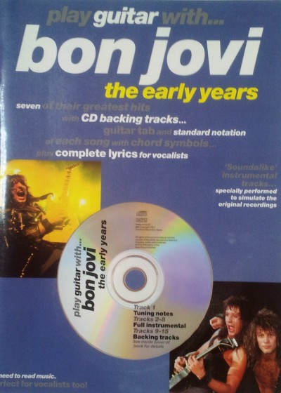 Toca la guitarra con Bon Jovi