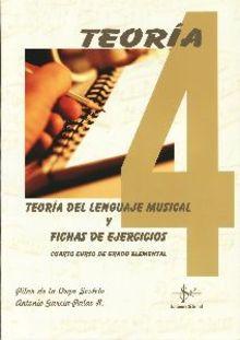 Teoría del lenguaje musical y fichas de ejercicios 4