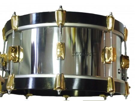 Tambor 14″ J. Vera casco de metal
