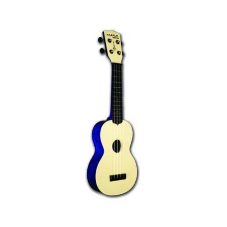 Ukelele Soprano Kala Waterman Azul Flameado