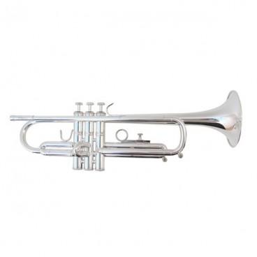 Trompeta en Do Fides Primera Plata